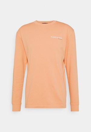 LONGSLEEVE TEE WITH CHEST PRINT - Top sdlouhým rukávem - pink horizon
