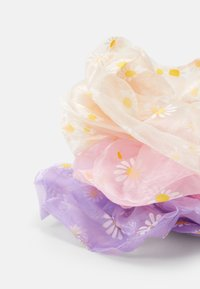 Pieces - PCPAISLEY OVERSIZED SCRUNCHI 3 PACK - Hair Styling Accessory - candy pink/lilac/cream - 1