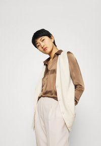 Another-Label - GALANE MELEE PANTS - Trousers - beige melee - 4