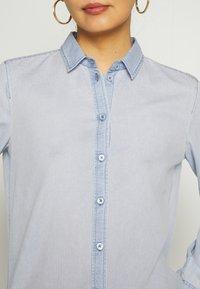 Marc O'Polo - LONG SLEEVED - Button-down blouse - foggy sky - 5