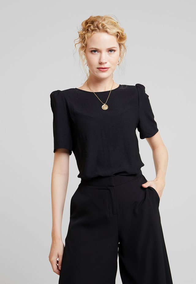 RUMPLE PAD BLOUSE - Blouse - rich black