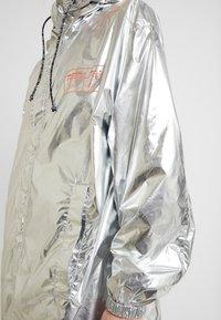 Replay - Short coat - sliver/orange - 8