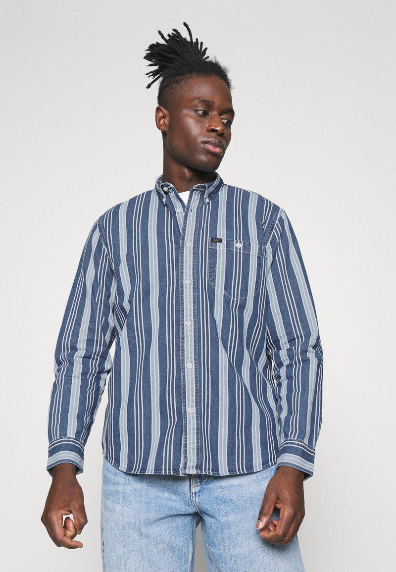 Lee - RIVETED SHIRT - Shirt - indigo