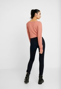 Lee - SCARLETT HIGH ZIP - Jeans Skinny Fit - mulberry - 2