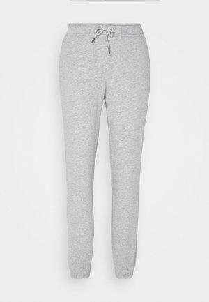 MEGHAN PANTS - Tracksuit bottoms - light grey melange