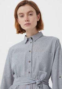 Finn Flare - Shirt dress - white - 4
