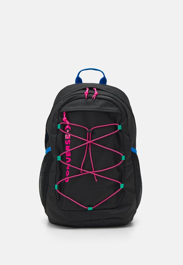 SWAP OUT BACKPACK UNISEX - Reppu - black/hyper pink