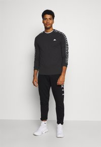 Kappa - IAN - Long sleeved top - caviar - 1