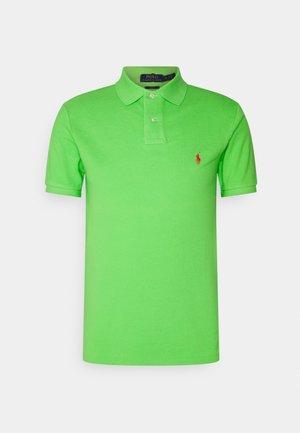SLIM FIT MESH POLO SHIRT - Polo shirt - kiwi lime