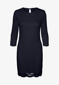 Vero Moda - EWELINA - Shift dress - dark blue - 5