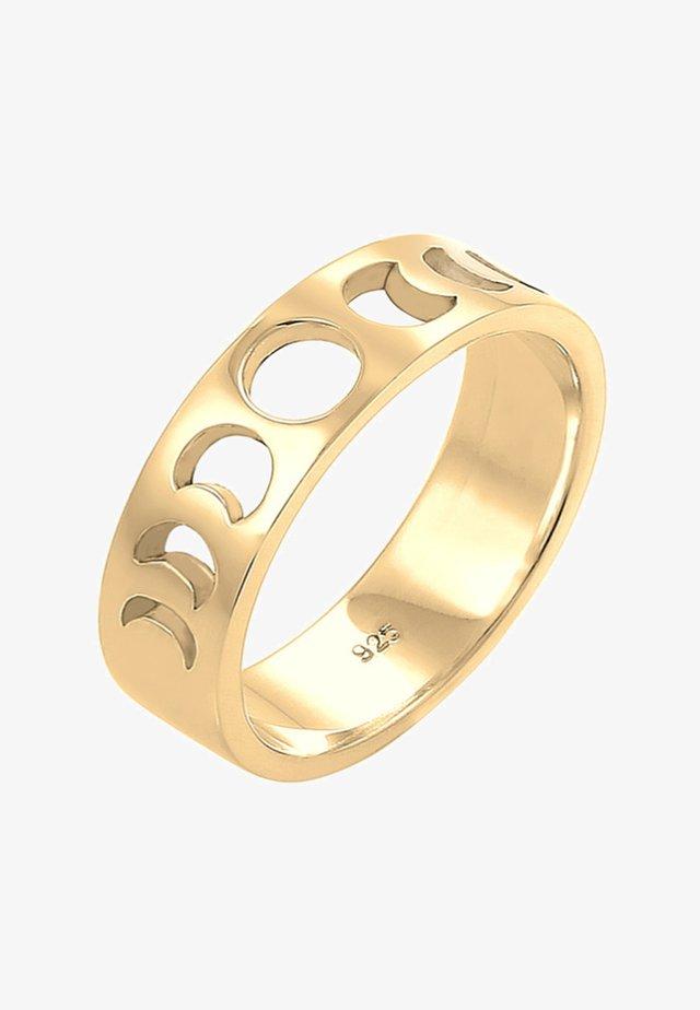 MOON HALF MOON - Ring - gold-coloured