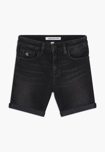 SLIM - Shorts di jeans - black
