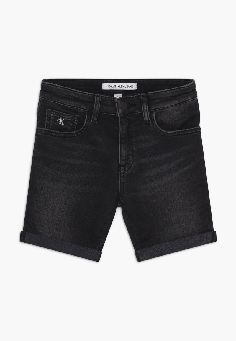 Calvin Klein Jeans - SLIM - Short en jean - black