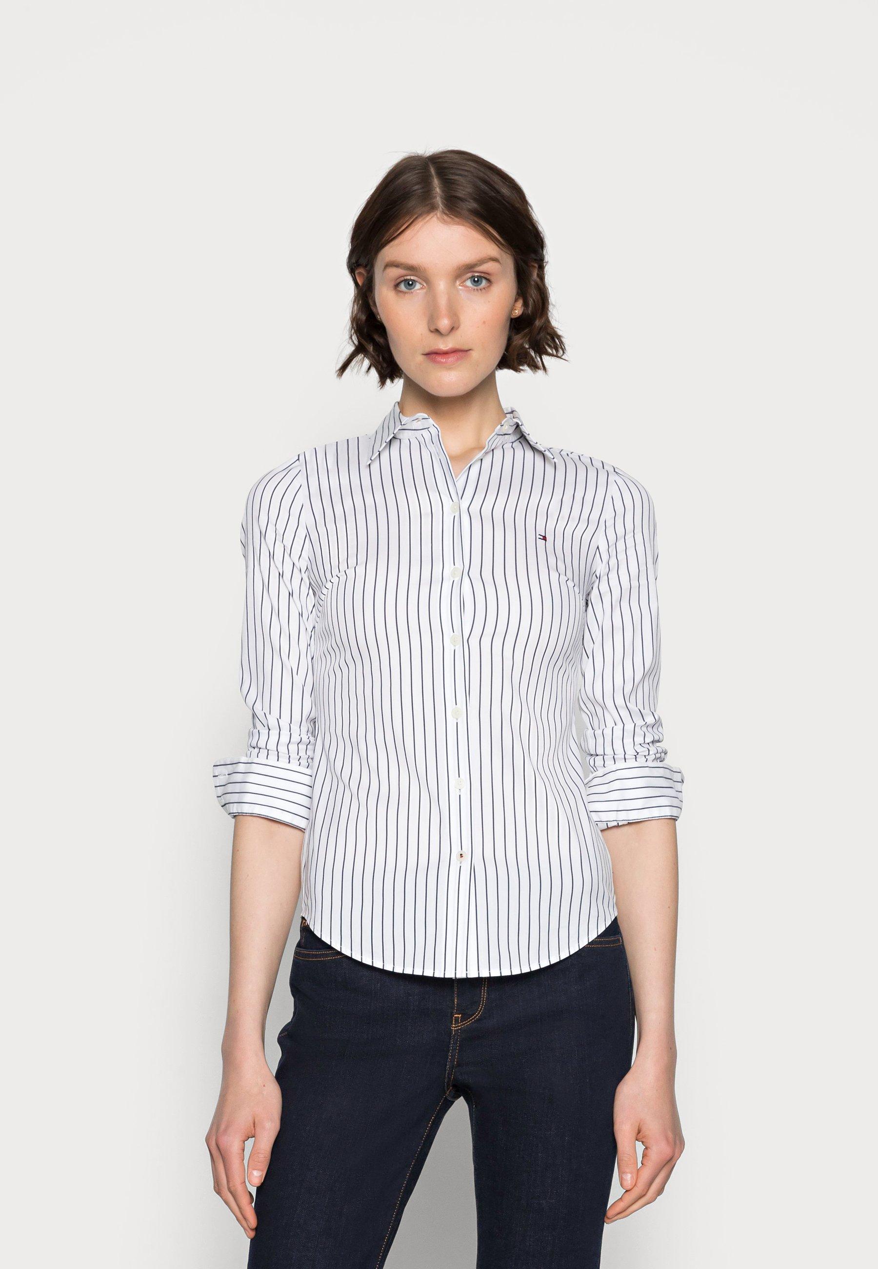Donna STRETCH POPLIN SLIM SHIRT - Camicia