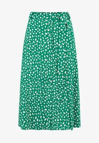 Sugarhill Brighton - ROSANNA PAINTERLY SPOT - A-line skirt - green - 4