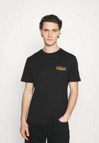 Volcom - BURGOO BSC SS - Print T-shirt - black - 0