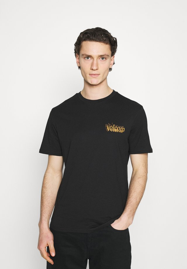 BURGOO - T-shirts med print - black
