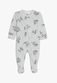 Cotton On - LICENCE ZIP THROUGH ROMPER BABY - Pyjamas - cloud marle - 0