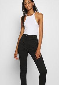 G-Star - WELD HIGH SLIM  - Jeans Skinny Fit - black - 3