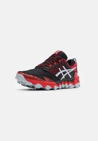 ASICS - GEL FUJITRABUCO 8 - Trail running shoes - classic red/piedmont grey - 1
