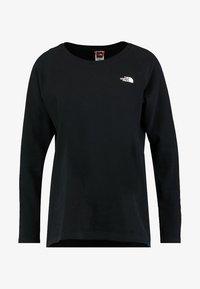 The North Face - RAGLAN - Long sleeved top - black - 4