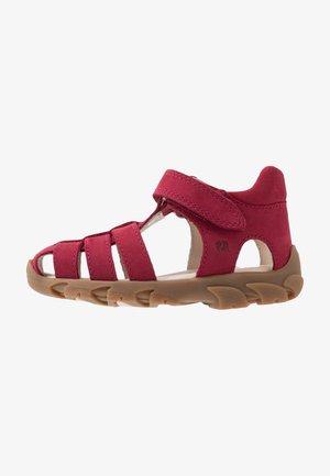 FIDO - Obuwie do nauki chodzenia - burgundy red