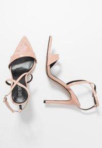 BEBO - SKITTLE - Sandaler med høye hæler - nude - 3