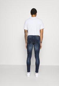 Alessandro Zavetti - SUPER SLIM  - Jeans Skinny Fit - indigo - 2