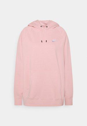 HOODIE PLUS - Hoodie - pink glaze/white