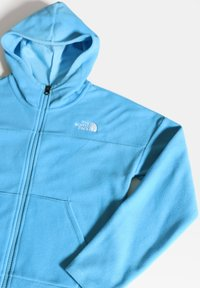 The North Face - G GLACIER FULL ZIP HOODIE - Sudadera con cremallera - ethereal blue - 3