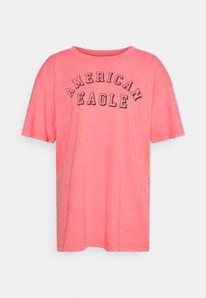 BRANDED FASHION LENNON TEE - T-shirts med print - mauve