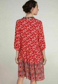 Oui - Day dress - red violett - 2