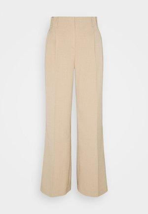 BYDARACA PANTS - Bukse - sesam melange
