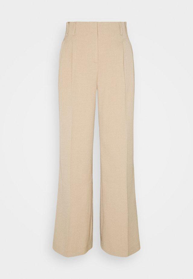 BYDARACA PANTS - Kalhoty - sesam melange