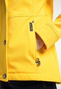 Schmuddelwedda - Softshellová bunda - gelb - 3