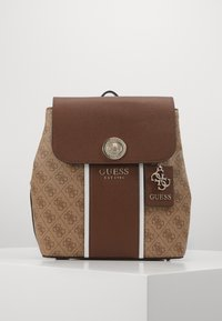 Guess - CATHLEEN BACKPACK - Rucksack - brown - 1
