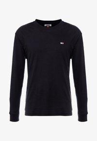 Tommy Jeans - CLASSICS LONGSLEEVE TEE - Bluzka z długim rękawem - black - 3