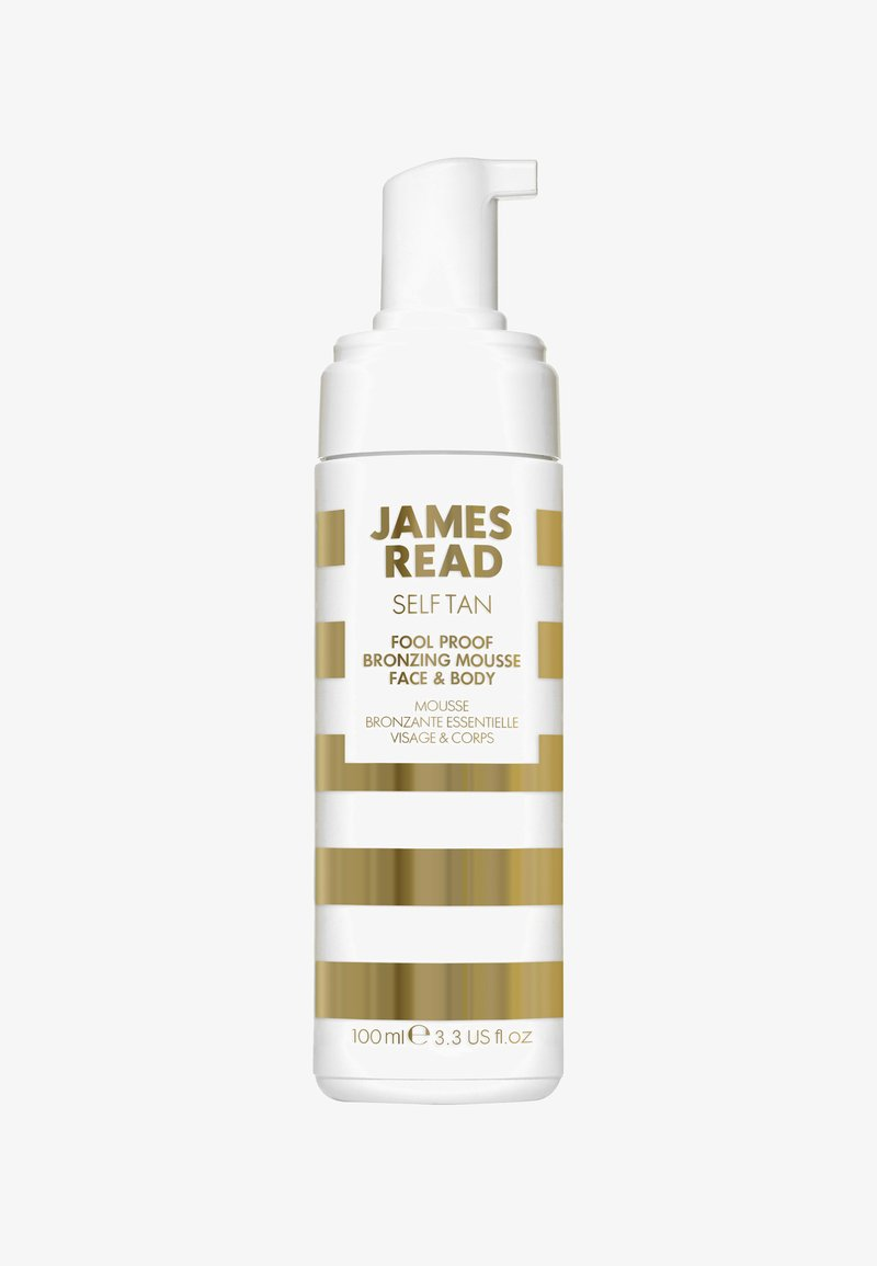 James Read - FOOL-PROOF BRONZING MOUSSE FACE & BODY 100ML - Self tan - -