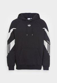 adidas Originals - SHARK HOODIE - Felpa - black/grey one - 3