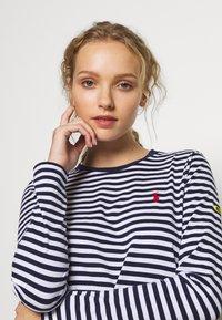 Polo Ralph Lauren - Long sleeved top - dark blue/white - 3