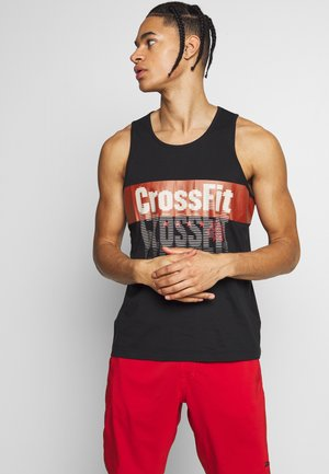 TRAINING GRAPHIC TEE - Top - black