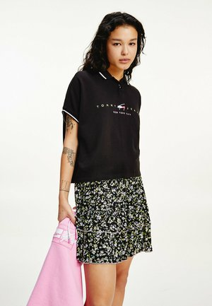 NEW YORK LOGO EMBROIDERY  - Polo shirt - black