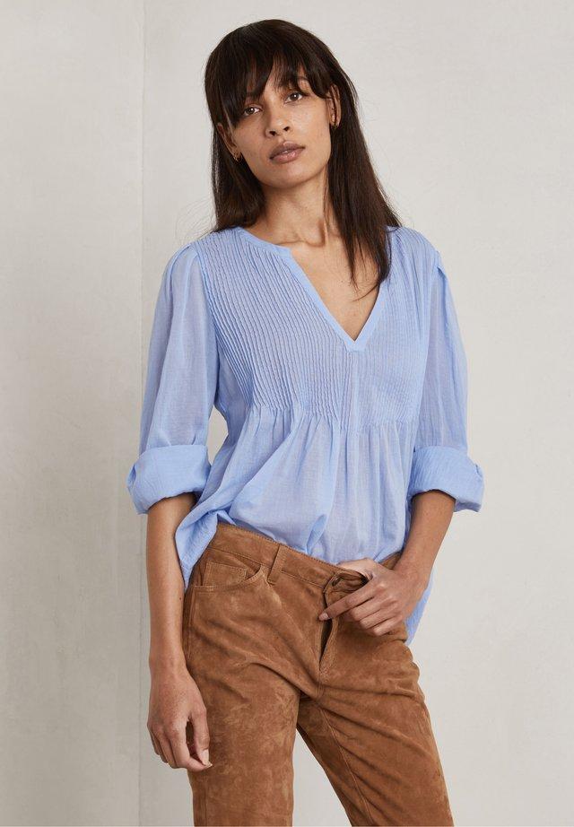 CARLA - T-shirt à manches longues - ocean blue