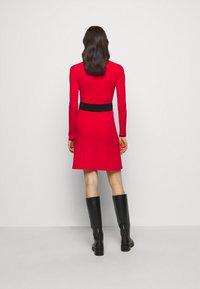 HUGO - SEAGERY - Jumper dress - open pink - 2