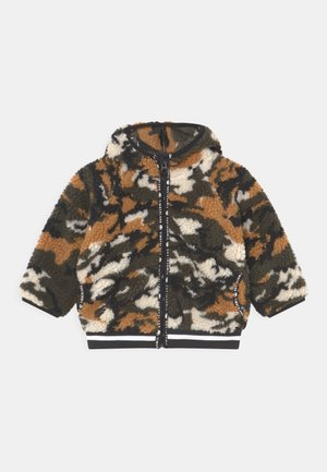 HOODED  - Winter jacket - khaki