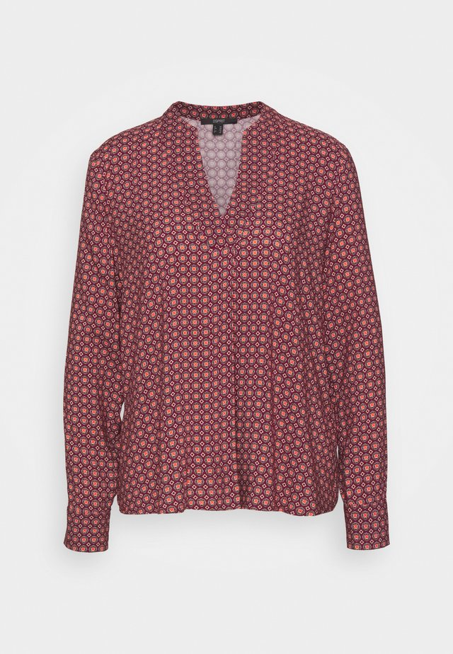 BLOUSE - Blůza - dark red