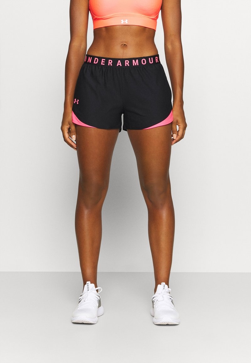 Under Armour - PLAY UP SHORTS 3.0 - Sports shorts - black