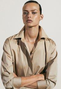Massimo Dutti - Maxi dress - beige - 4