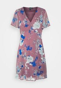 VMKATINKA SHORT DRESS - Kjole - rose brown/katinka