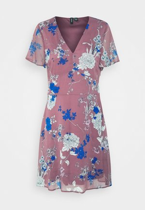 VMKATINKA SHORT DRESS - Day dress - rose brown/katinka